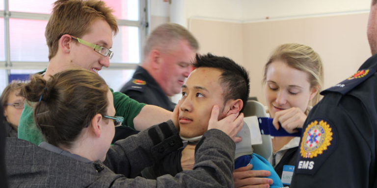 Bow Island makes an impression on future healthcare professionals             – 29th October 2014