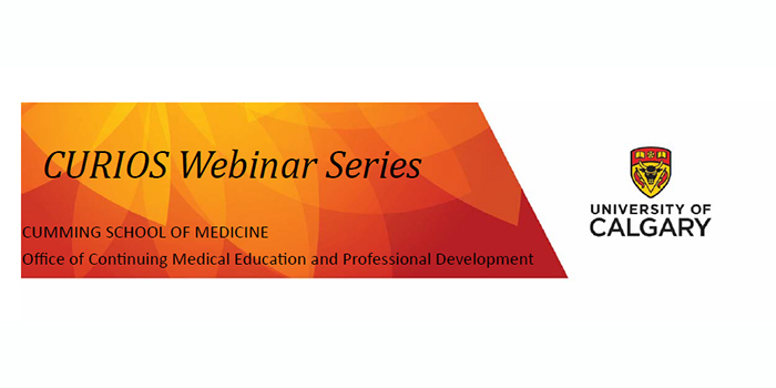 Register for the next CURIOS Webinar: Common Causes of Vertigo – The Alberta Rural Physician Action Plan
