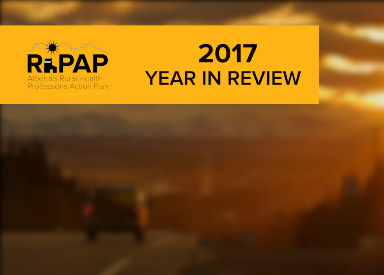 2017 Year In Review – The Alberta Rural Physician Action Plan