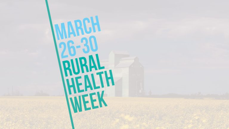 Celebrate Rural Health Week March 26-30 – The Alberta Rural Physician Action Plan
