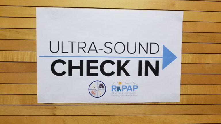 20181011_175315 Ultrasound Check-in Signage