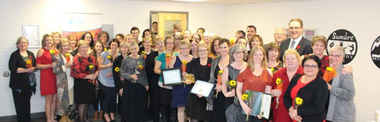 Sundre Hospital and Care team: 2018 Rhapsody Health-care Hero recipients