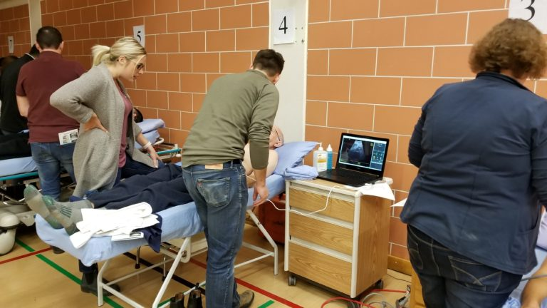 Boot-camp style ultrasound course kicks training into high gear