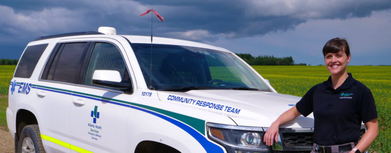 This Peace River paramedic would prefer not to take you to the hospital