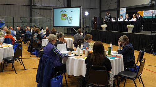 "The 2018 RhPAP Conference ""Steppin It Up - A Renewed Impact"" was held April 11 & 12 at the JBS Centre in Brooks, AB"