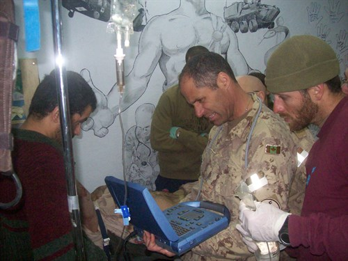 EDE In Afghanistan: Treating The Wounded